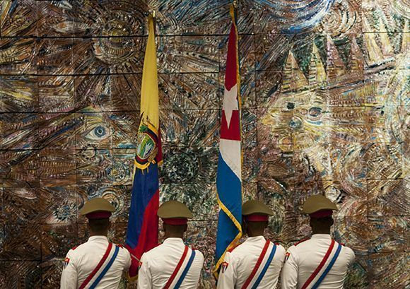 Correa termina su mandanto el próximo 24 de mayo. Foto: Irene Pérez/ Cubadebate.