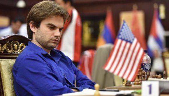 El estadounidense Samuel L. Shankland. Foto: Chessbase.