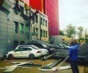 ¿Apocalipsis climático en Moscú? Las redes estallan tras la racha de viento huracanado. Foto: Svideteli I Egory/ Telegram.