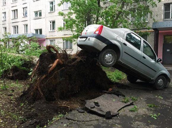 El fenómeno climático ha dejado más de 40 heridos. Foto: @92fmru