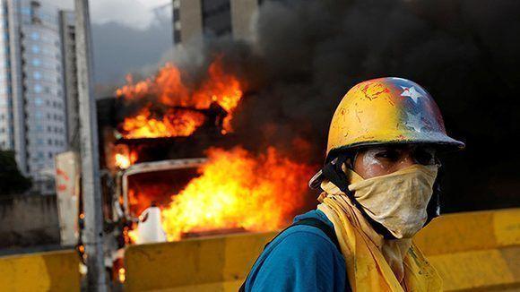 La oposición venezolana busca crear el caos para destituir a Maduro: Foto: Reuters.