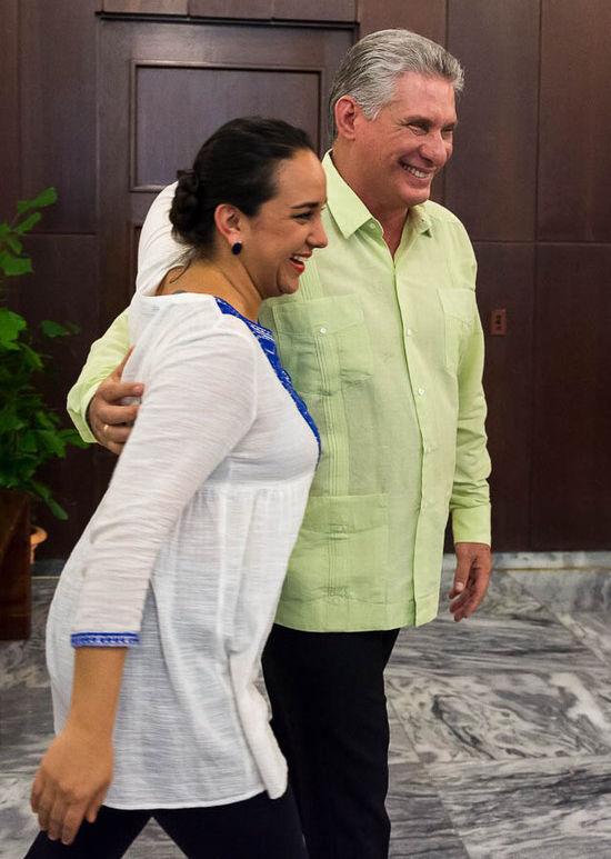 """Vicepresidente cubano se reúne con titular de Parlamento ecuatoriano: """"La victoria de Alianza PAIS fue una luz para el continente"""""""