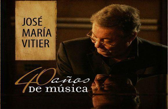 40 años de música, de José Maria Vitier.