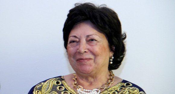 La viuda de António Agostinho Neto, Maria Eugénia Neto