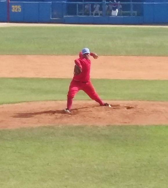 Yorlián Rodríguez hizo un magnífico trabajo pero su equipo no logró defender la ventaja. Foto: Katheryn Felipe/Cubadebate.