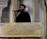 Abu Bakr al-Bagdadi, líder del Estado Islámico, durante su única aparición pública. Foto: Reuters.