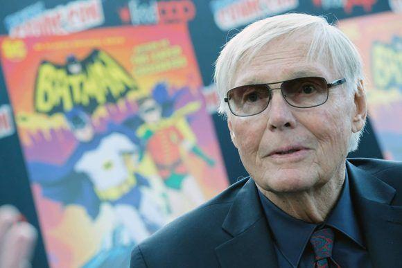 Adam West, el pasado mes de octubre en la Comic-Con de Nueva York. Foto: AFP.