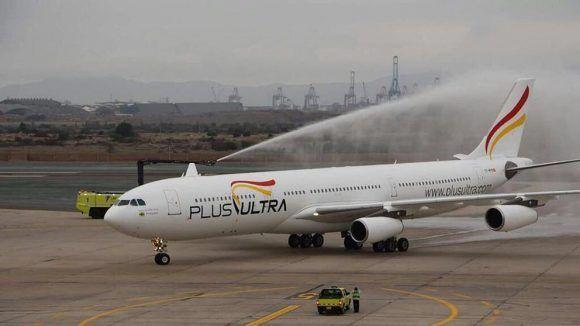 Aerolínea Plus Ultra. Foto: EFE