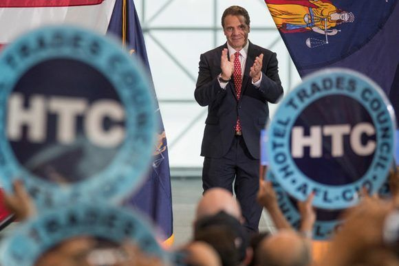 Andrew M. Cuomo, gobernador de Nueva York. Foto: Mary Altaffer/ AP.