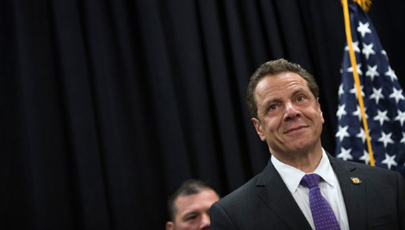 Andrew M. Cuomo, gobernador de Nueva York. Foto: Nathaniel Brooks/ The New York Times