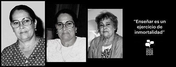 Enma Fernández, una vida dedicada a la docencia universitaria y a la investigación en las ciencias sociales. Imagem: FCOM.