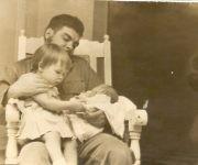 El Che junto a Aleidita y Camilo, el 24 de mayo de 1963. Foto: Cortesía del Centro de Estudios Ernesto Guevara.