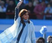 Cristina Fernández de Kirchner presentó su candidatura por la provincia de Buenos Aires para las elecciones del Senado. Foto: Página 12.