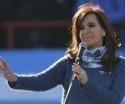 Cristina regresa a la política de manera activa. Foto: AFP.