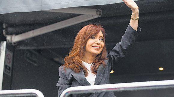 Cristina Fernández de Kirchner criticó la larga deuda asumida por el gobierno de Macri. Foto: Página 12.