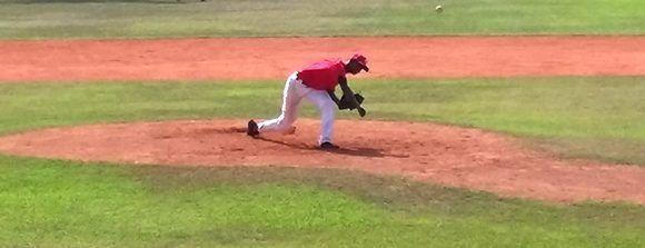 El diestro santiaguero Luis Torres lució de maravillas, pese a cargar con el revés. Foto: Katheryn Felipe/Cubadebate.