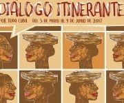 Diálogo Itenerante por toda Cuba (cartel).