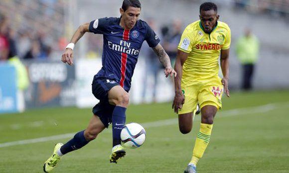 Di María juega en el PSG de Francia, pero es acusado por la agencia tributaria española. Foto: Reuters.