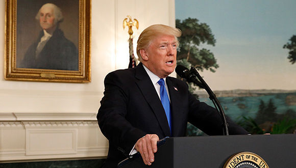 """Donald Trump estaría siendo investigado por obstrucción a la justica, según el """"Post"""". Foto: Reuters."""