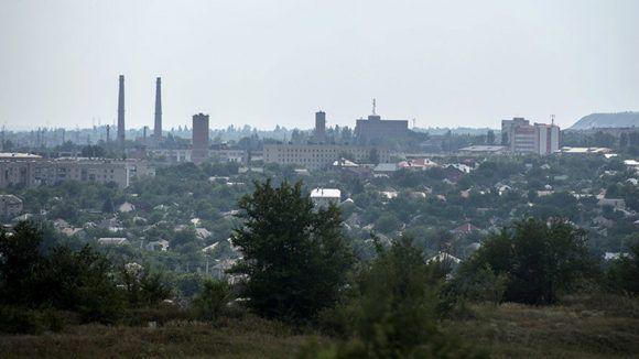 Una fuerte explosión se registró en el centro de la ciudad de Donetsk. Foto: Evgeny Biyatov/ Sputnik.