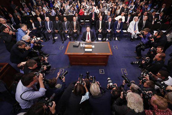 Trump: Estoy dispuesto a testificar bajo juramento sobre lo que dice Comey