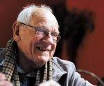 Francois Houtart, el teólogo y sociólogo de la liberación de los pueblos. Foto tomada de La Línea de Fuego.