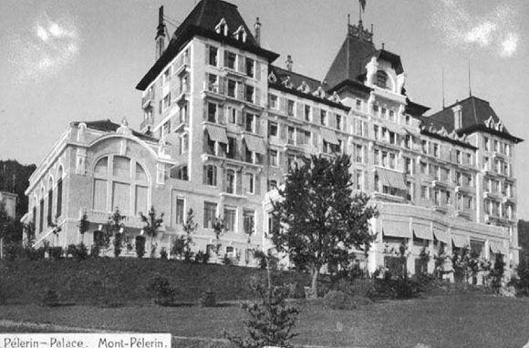 Hôtel du Parc de Mont-Pèlerin, Suiza. Foto: Archivo.