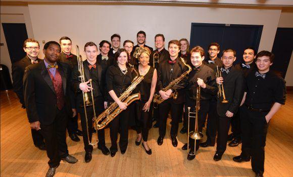 La Jazz Band de la Universidad de Harvard. Foto promocional