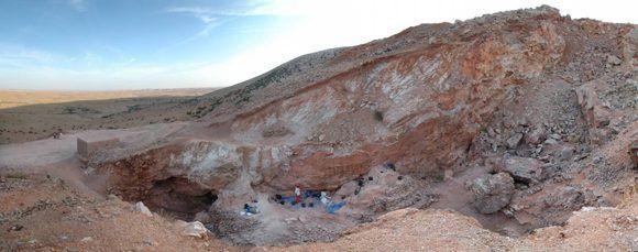 Jebel Irhoud, Marruecos,, nueva cuna de la humanidad. Foto: MPI EVA Leipzig.