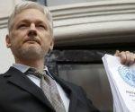 Julian Assange lleva cinco años refugiado en la embajada de Ecuador en el Reino Unido. Foto: AP.