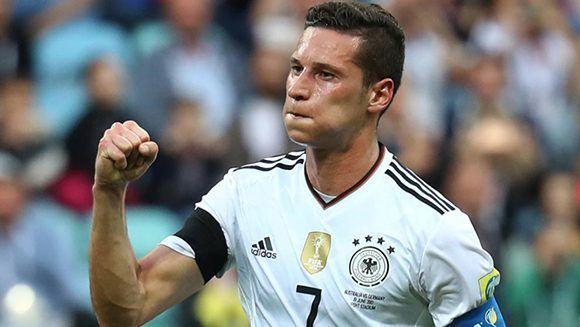 Draxler fue el capitán de los teutones. Foto: Reuters.