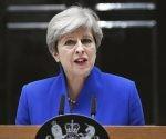 La primera ministra británica, Theresa May. Foto: EFE.