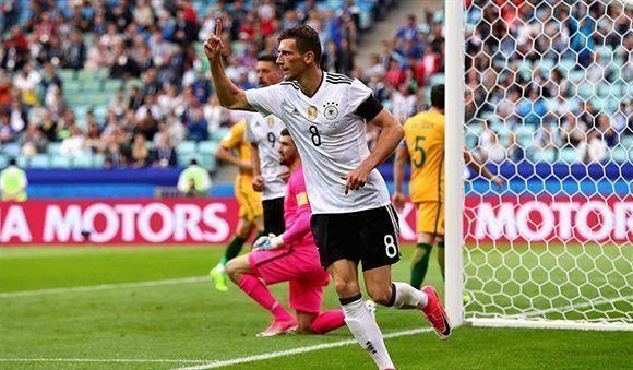 Alemania abrió la Copa Confederaciones con triunfo pese a no convencer del todo.