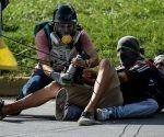 Así actúan los opositores en Venezuela. Foto: AFP.