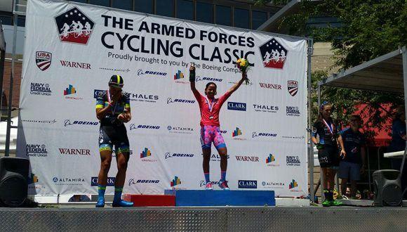 Cubana Mejías triunfa en Clásica de Ciclismo en Estados Unidos