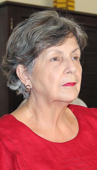 Luisa Campuzano merecedora de la medalla Alejo Carpentier. Foto: Daylén Vega / Cubadebate