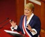La presidenta de Chile, Michelle Bachelet, pidió perdón al pueblo mapuche. Foto: Reuters.