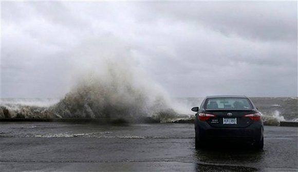 Penetraciones del mar en Nueva Orleans, Estados Unidos. Foto: AP.