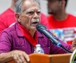 Oscar Lopez Rivera, controversial activist for Puerto Rican independence, speaks June 22, 2017 during a Holyoke neighborhood celebration in his honor.