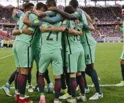 Los portugueses son primeros del Grupo A, con una victoria y un empate. Foto: AP.