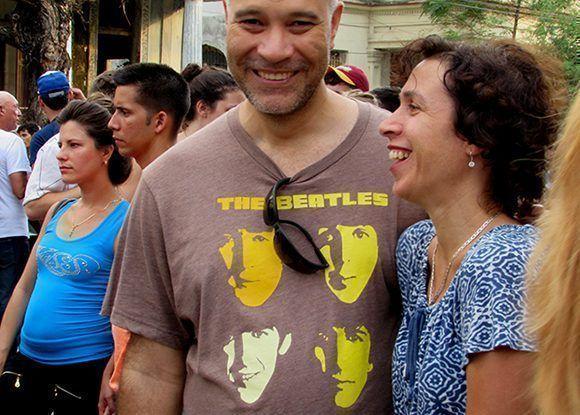 Con gran satisfaccion los presentes disfrutaron del concierto. Foto: Cinthya García Casañas/ Cubadebate.