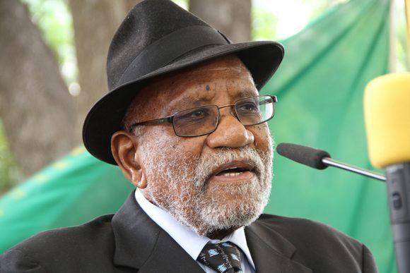 Toivo Ya Toivo falleció a los 93 años. Foto: Namibian Broadcasting Corporation.