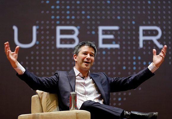 Travis Kalanick, el CEO de Uber ha renunciado. Foto: Reuters/ Danish Siddiqui.