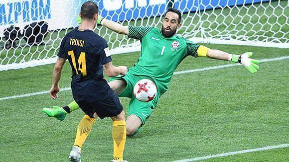 Troisi abrió la cuenta por Australia. Foto tomada de Marca.