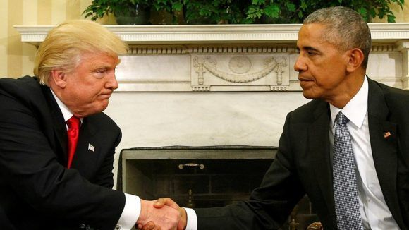 Trump y Obama. Foto: Agencias.