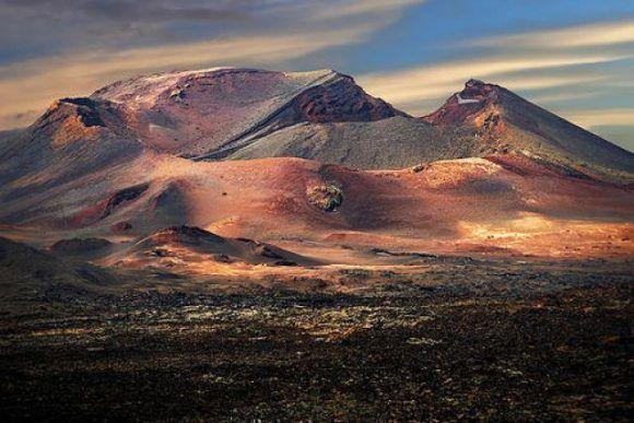 Volcán de Timanfaya, Lanzarote. Foto: 20 Minutos.
