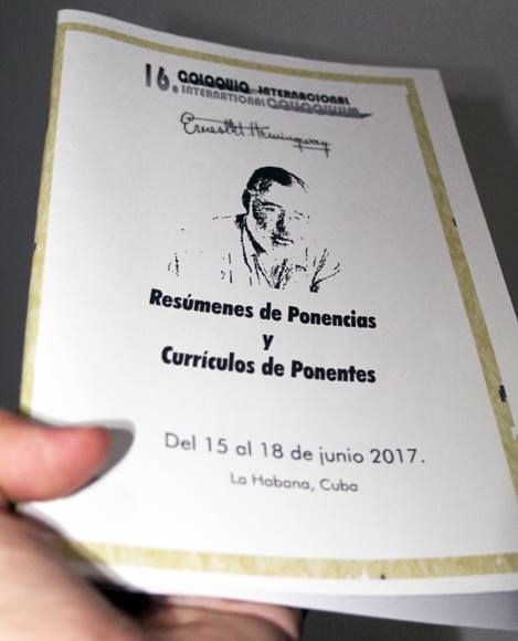 XVI Coloquio Internacional Ernest Hemingway traerá nuevas visiones sobre la vida del escritor. Foto: Daylén Vega/ Cubadebate
