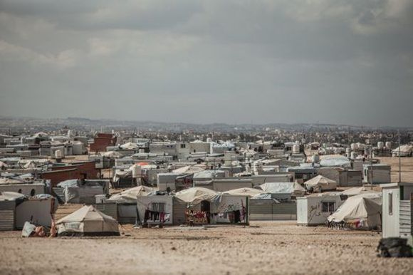 Zaatari, campo de refugiados sirios en Jordania. Foto: Pablo Tosco/ Oxfam Intermón.