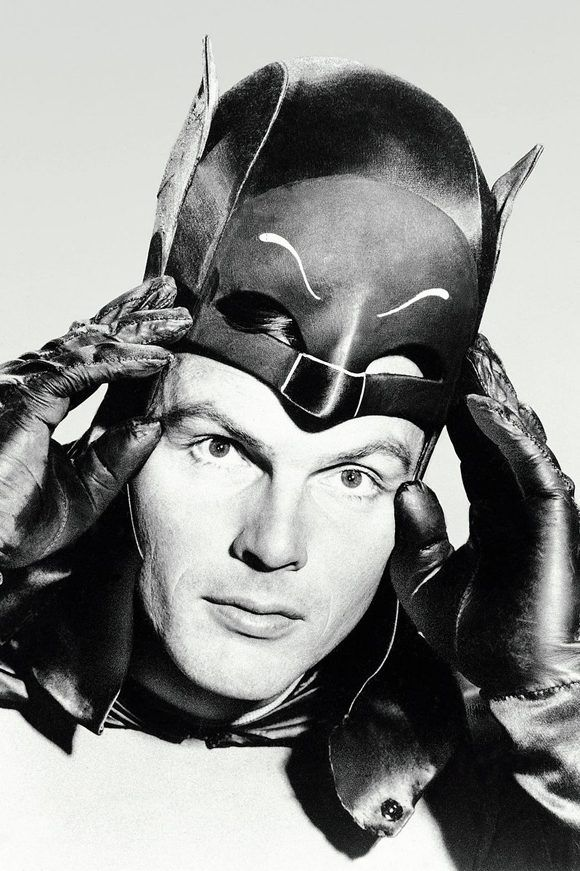 Adam West inmortalizó el personaje de Batman. Foto: @edgarwright/ Twitter.