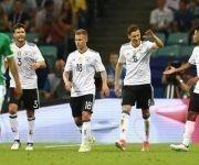La joven selección de Alemnia arrasó con contundencia a México en la semifinal de la Copa Confederaciones. Foto: Getty Images.